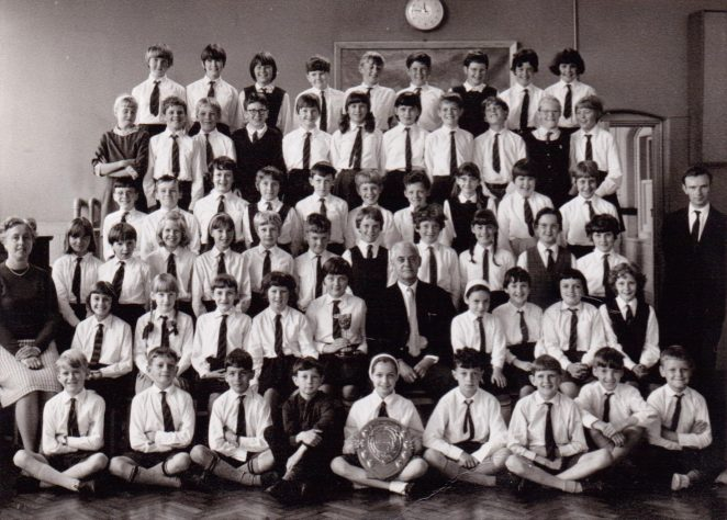 Downs primary school choir 1967 | From the private collection of  Graham Maskell