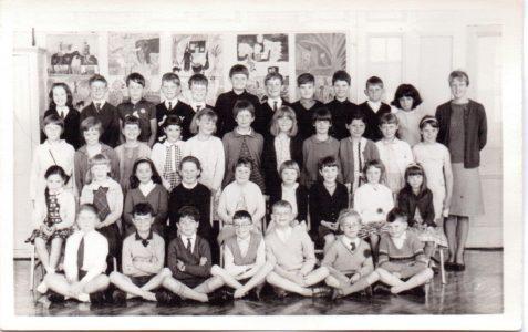Miss Wetherley's Class Vl 1966