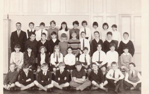 Mr Hall's class 11 1968.