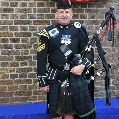 Pete Murray-Jones Royal Irish Regiment   Photo by Tony Mould