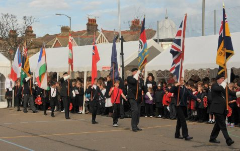 Downs Junior School Remembrance Service