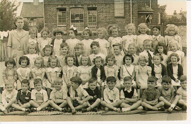 Downs County Primary School c.1952 | From the private collection of Peter Grossmith