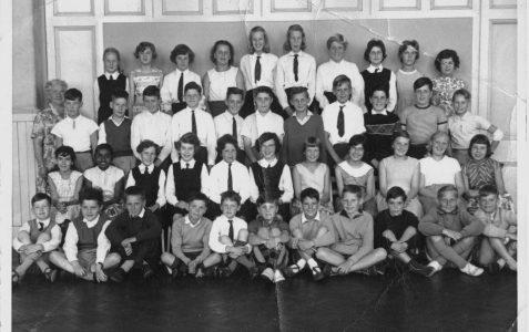 Miss Cox's Class - 4A 1960-1961