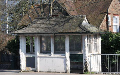 Ditchling Road tram shelter