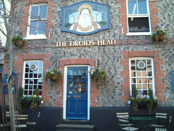 Photograph of the Druids Head, 2004 | Photo by Mike Snewin