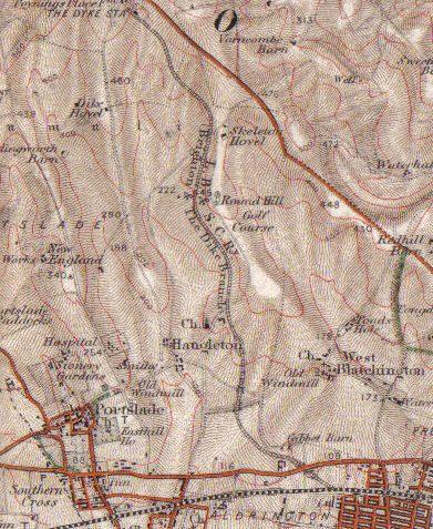 The Dyke Railway 1901 | Ordnance Survey