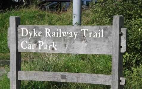 Exploring the route of the old Dyke Railway: Part X