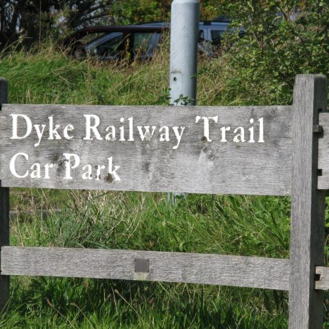 Dyke Railway Trail | Photo by Peter Groves
