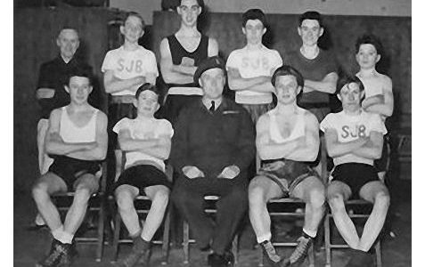 St. John The Baptist (ATC) Boxing Team 1954