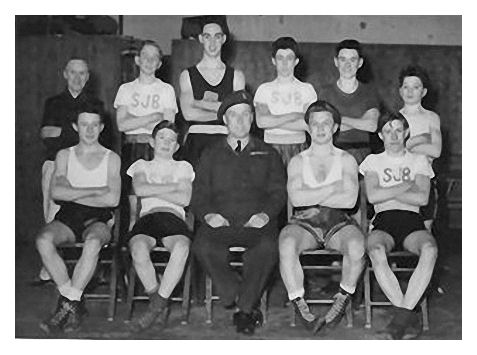 St. John The Baptist (ATC) Boxing Team 1954 | From the private collection of Eddie Waller