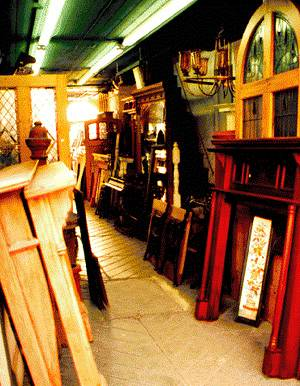 A shop retailing architectural salvage