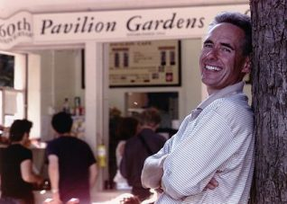 David Sewell, proprietor of the Pavilion Gardens Cafe | From the private collection of David Sewell