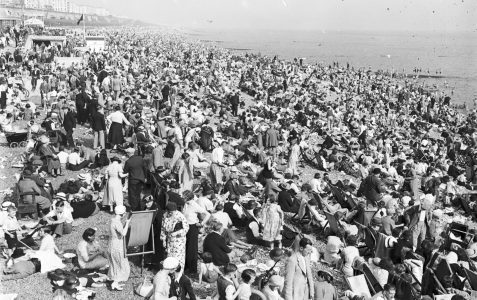 Brighton beach in 1920s?