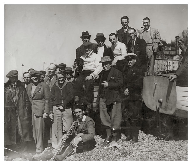 Brighton Deep Sea Anglers c1950 | From the private collection of Pat Benham