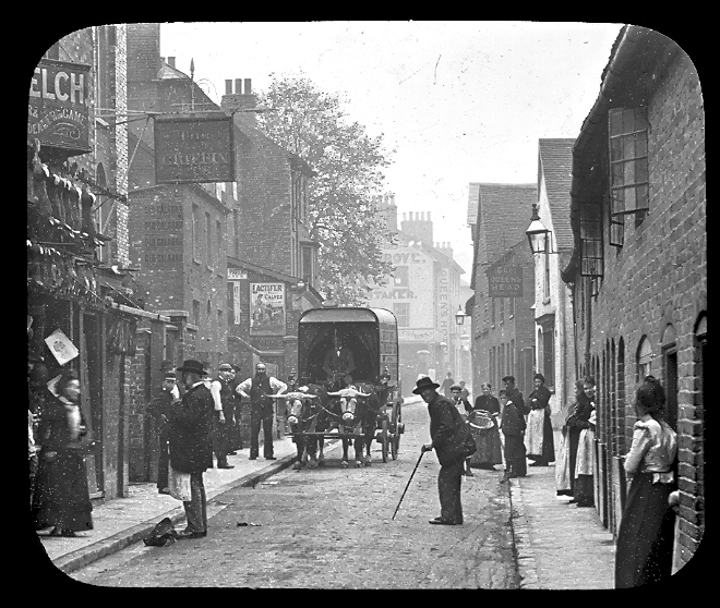 Is this a Brighton street? | From the private collection of Peter Gillies