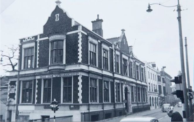The infirmary and dispensary building in 1958   Image reproduced with kind permission of The Regency Society and The James Gray Collection