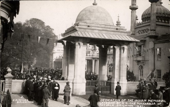 Dedication of the Indian Gate 1921 | Royal Pavilion and Museums Brighton and Hove