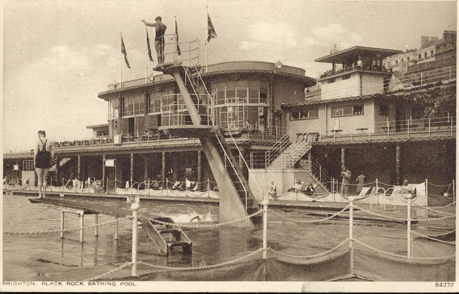Black Rock Swimming Pool undated | Royal Pavilion and Museums Brighton and Hove