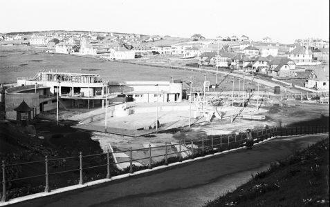 Saltdean Lido under construction