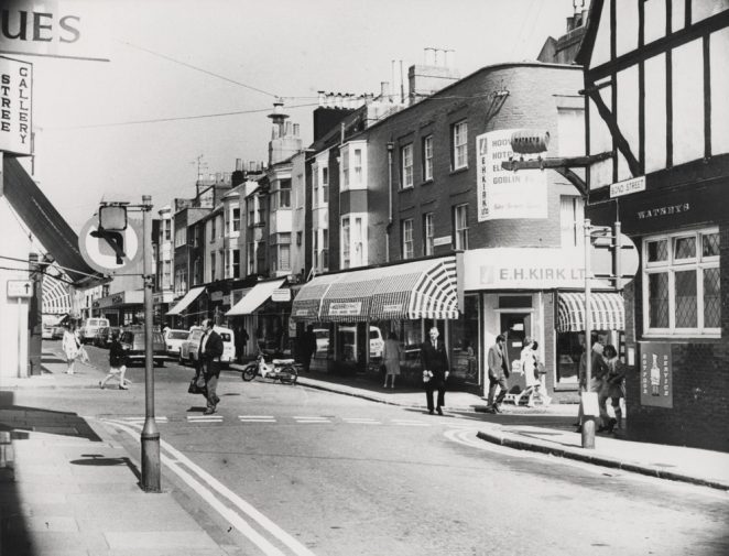 Gardner Street shops in the 1970s | Royal Pavilion and Museums Brighton and Hove