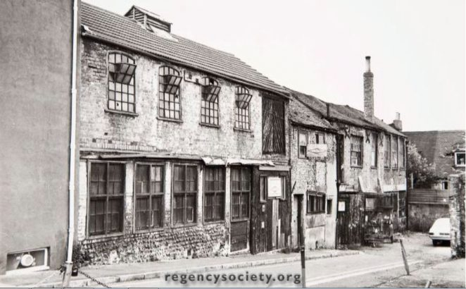 Dorset Street in 1979 | Image reproduced with kind permission of The Regency Society and The James Gray Collection