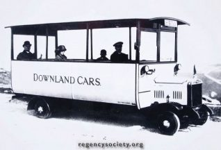 Downland Cars c1926/27: click to open a large version in a new window | Image reproduced with kind permission of The Regency Society and The James Gray Collection