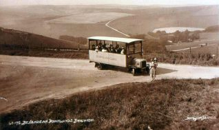 Downland Cars c1926/27:  click to open a large version in a new window | From the private collection of Roy Grant