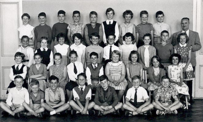 Is the teacher here Mr Hinton? July 1960 (I am back row middle) | From the private collection of Tony Belcher