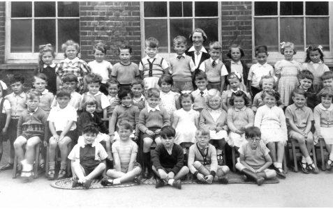 Miss Monger's class c.1956