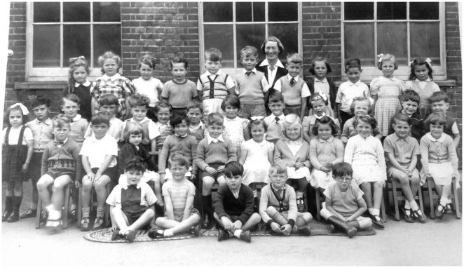 Miss Monger's class c1956 | From the private collection of Irene Dobson (nee Budd)