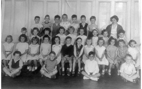 Mrs McConville's class c1957