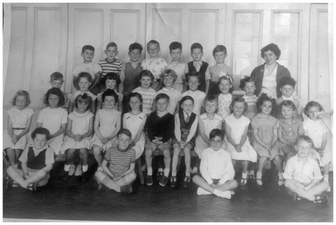 Downs School c1957 | From the private collection of Irene Dobson (nee Budd)