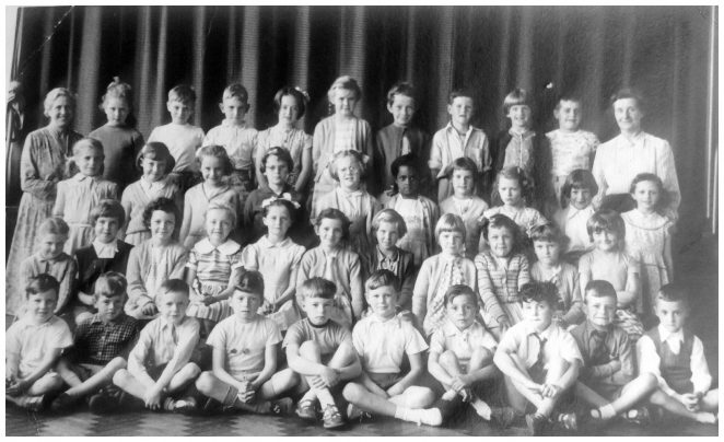 Class photograph c1958 | From the private collection of Irene Dobson (nee Budd)