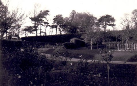 Photo of the crematorium in 1976