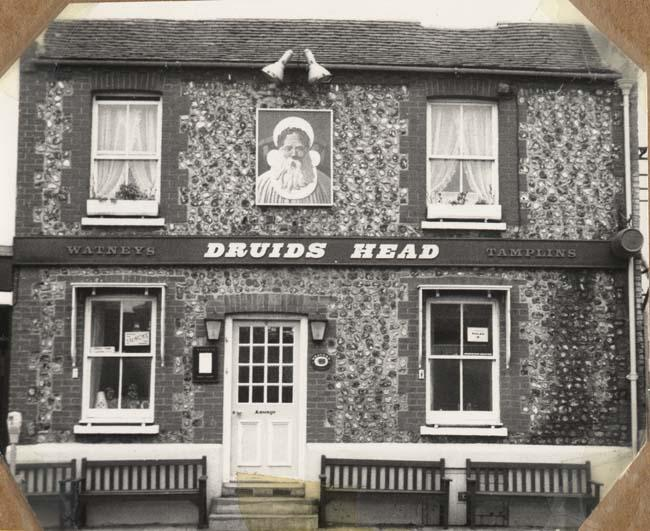 Photograph of the Druids Head | Image reproduced with permission from Brighton History Centre