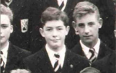Panoramic school photo (1957)