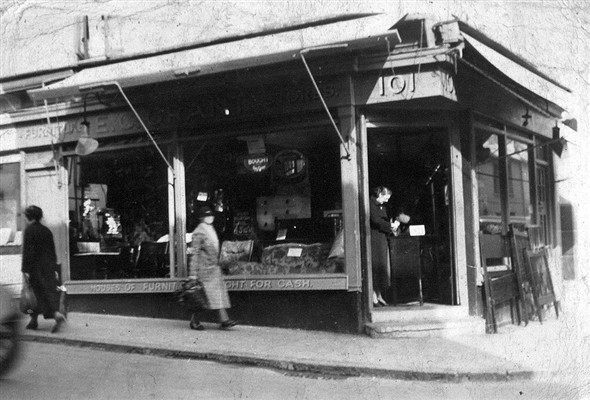 101 Gloucester Road c1930s | From the private collection of Roy Grant