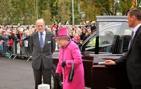 The Queen officially opens The Keep