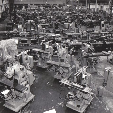 Milling Machine Assembly Line at Eaton Road, Hove, c 1965 | The private collection of Peter Groves