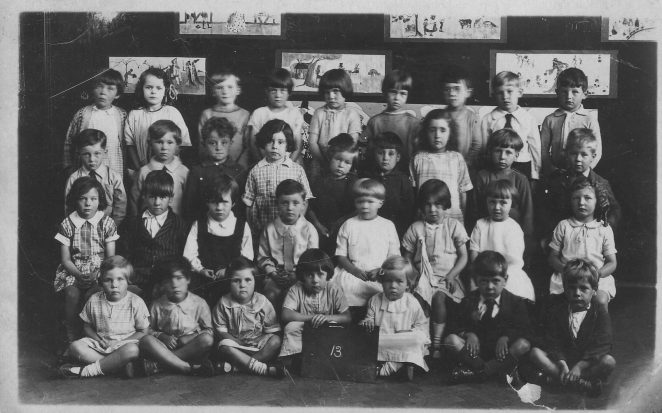 Ditchling Road School c1928/29 | From the private collection of Chris Pellett