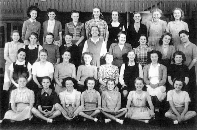 Elm Grove Senior Girls 1949 | From the private collection of Margaret Palmer