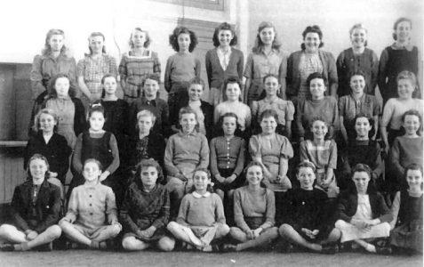 Senior Girls class photos 1948/1949