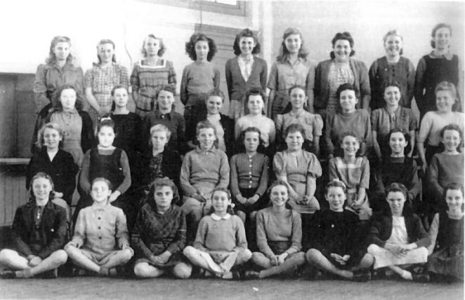 Elm Grove Senior Girls 1948 | From the private collection of Margaret Palmer
