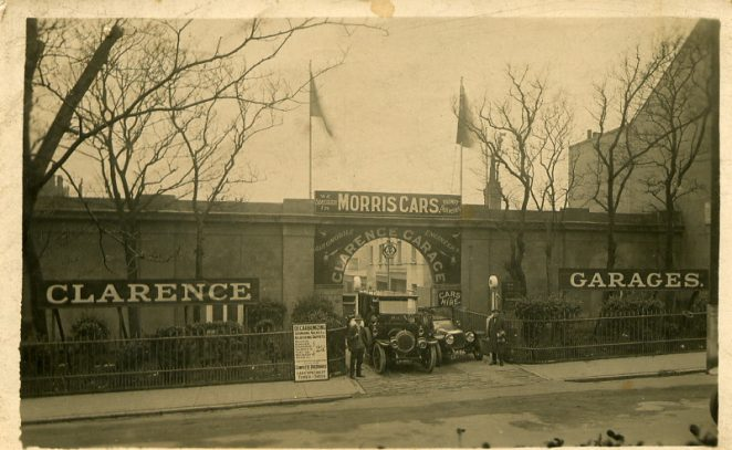 Clarence Garage c1920 | From the private collection of Tim Sargeant