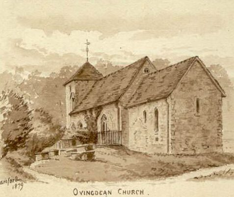 St Wulfran's church c1879 | From the private collection of Jennifer Drury
