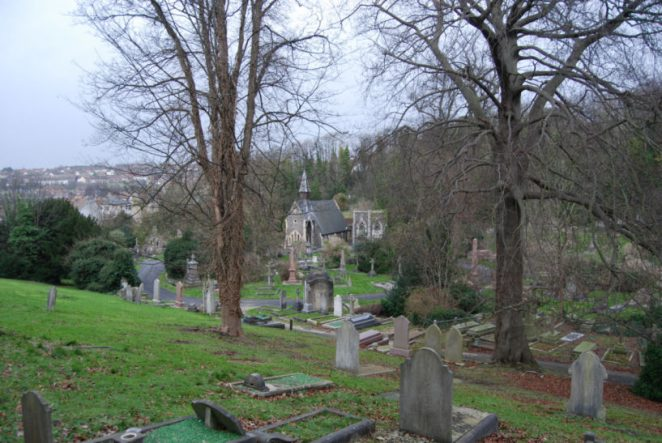 Extra Mural Cemetery   Photo by Tony Mould