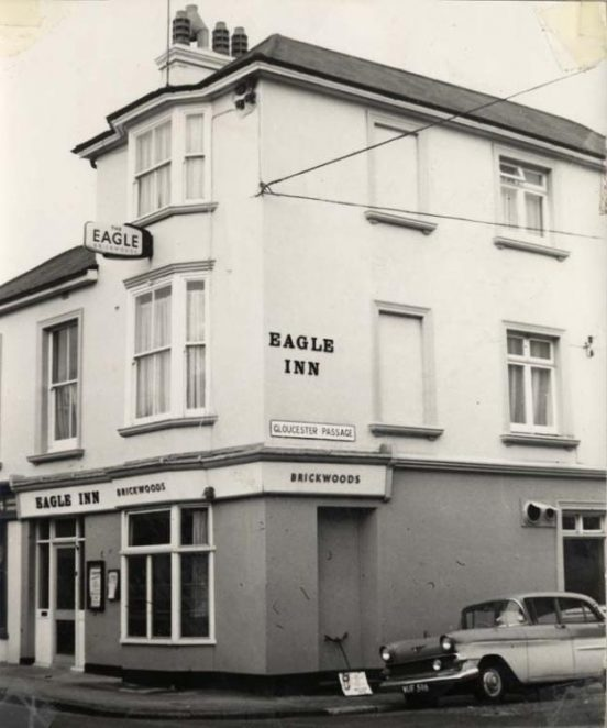 Photograph of the Eagle Inn | Image reproduced with permission from Brighton History Centre