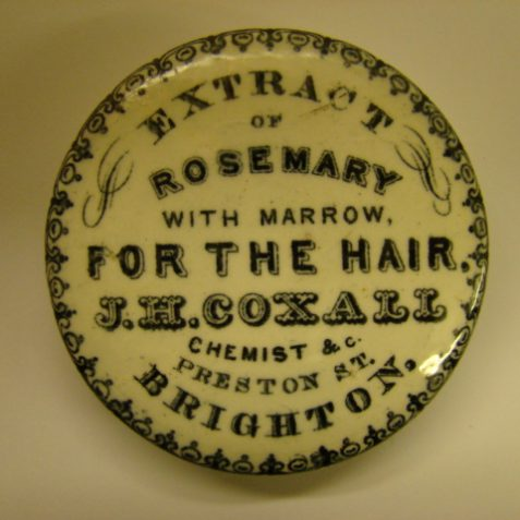 Cosmetic pot lid | From the private collection of Martin Phillips