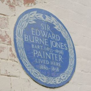 Blue plaque on Prospect Cottage, Rottingdean | Photo by Tony Mould