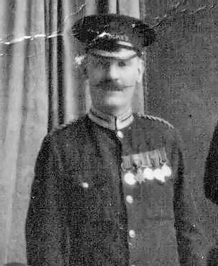 Ernest in his Duke of York commissionaire uniform | From the private collection of Terry Hyde
